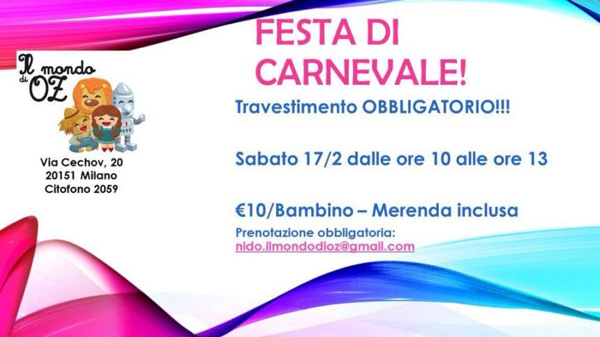 Festa di Carnevale!!!