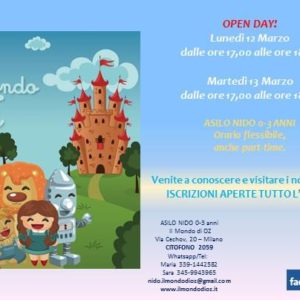 Open Day!!!