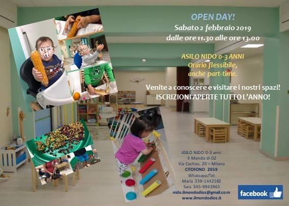 Finalmente Open Day!!!